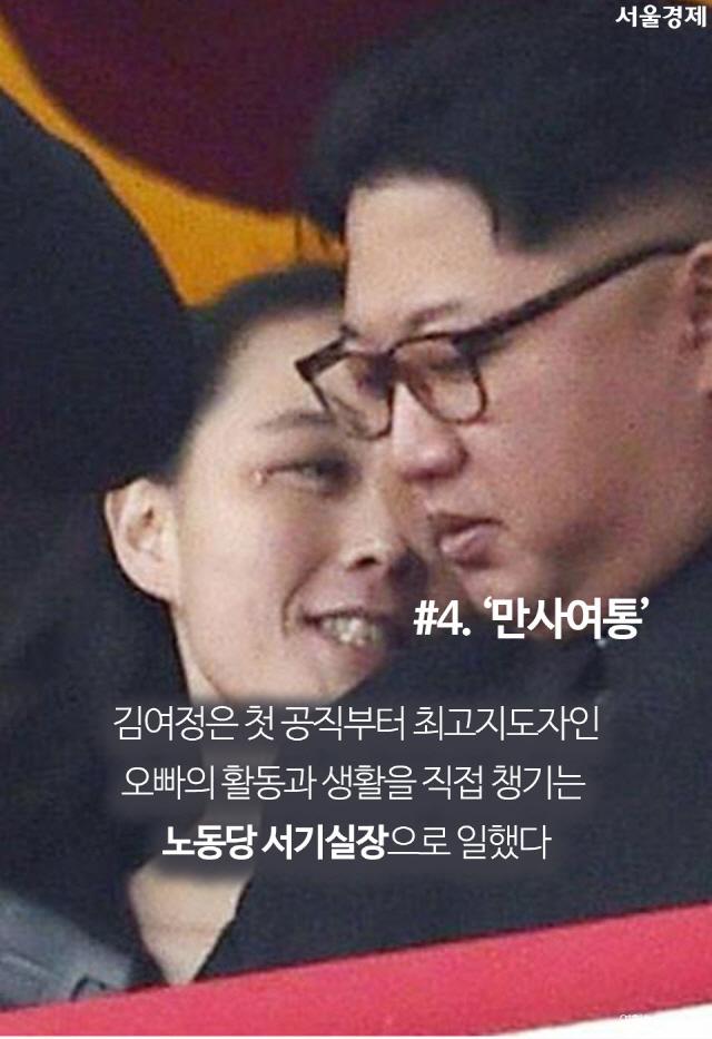 [카드뉴스] 평창 오는 '김씨일가' 김여정, 그녀는 누구인가?
