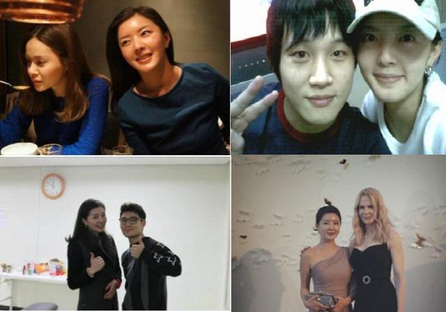 '도도맘' 김미나, 과거 연예인 인맥 '눈길'...'니콜 키드먼까지?'