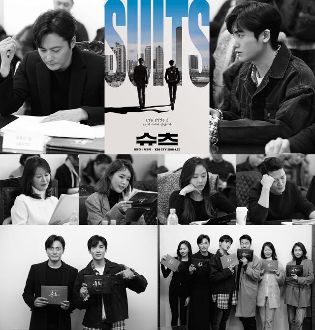 '슈츠(Suits)' 역대급 브로맨스 예고...장동건-박형식 최강 호흡