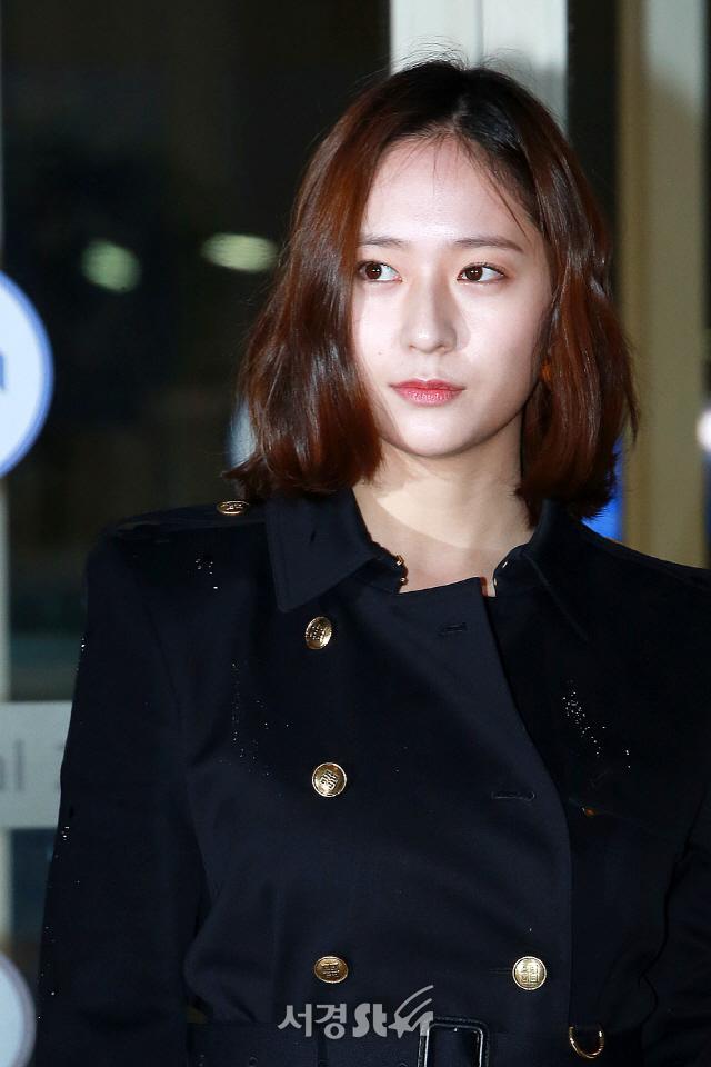 """[공식입장] SM측 """"크리스탈, 드라마 '허슬' 여주인공 제안받고 ...긍정 검토 중"""""""