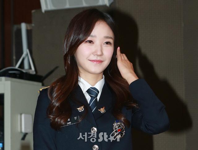 장예인, '발그레한 딸기우유 볼터치' (시골경찰3)
