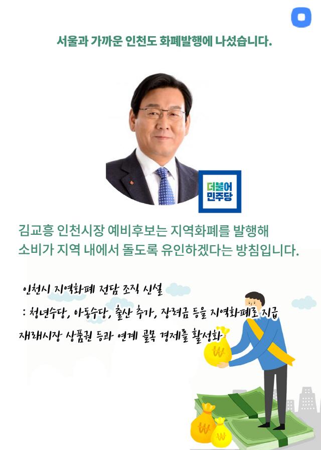 [카드뉴스] 2030잡아라…지역화폐 발행으로 표심 얻는 후보들
