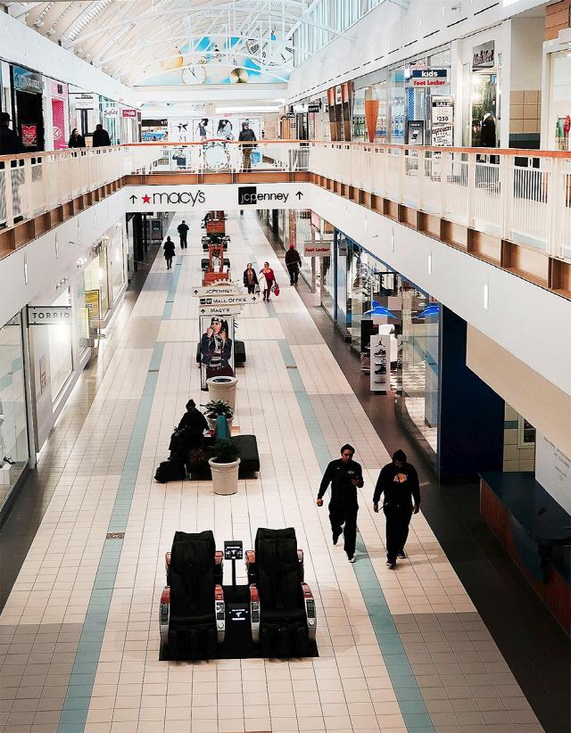 소매업체들의 빈 공간 채우기