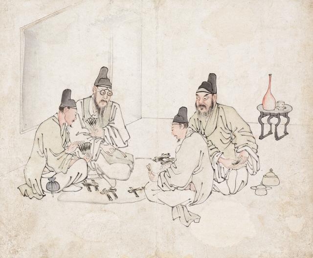 [조상인의 예(藝)-58김득신 '야묘도추']병아리 물어가는 들고양이...스냅사진처럼 생생한 '봄날의 소동'