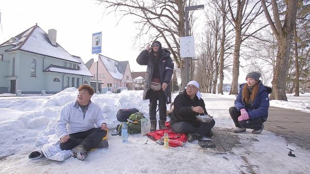 '오지의 마법사' 윤정수, 에스토니아에서 붕어빵 장사…결과는?