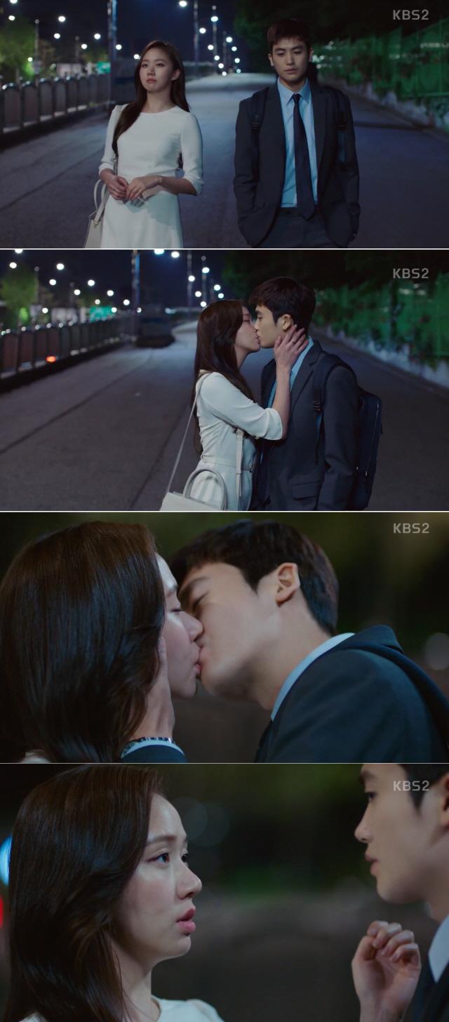 """'슈츠' 박형식X고성희, 달콤한 키스..""""라면 먹고 갈래요?"""""""