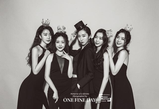 '23일 결혼' 달샤벳 가은, 브라이덜샤워+웨딩화보 공개