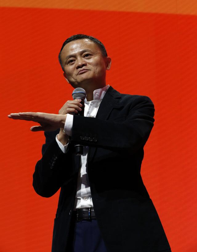 """마윈 알리바바 회장 """"블록체인 기술은 아니지만 비트코인은 거품"""""""