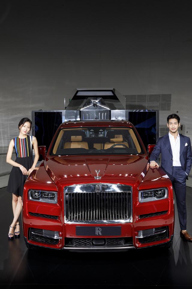 롤스로이스 첫 SUV '컬리넌' 출시…4억6,900만원부터