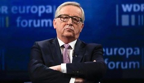 """융커 EU 집행위원장 """"내달말 방미, 트럼프와 무역분쟁 해결방안 논의"""""""