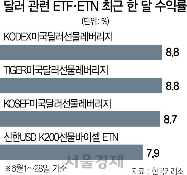[머니+] '내년 상반기까지 달러 강세 지속'…직접 투자보단 ETF 공략 바람직