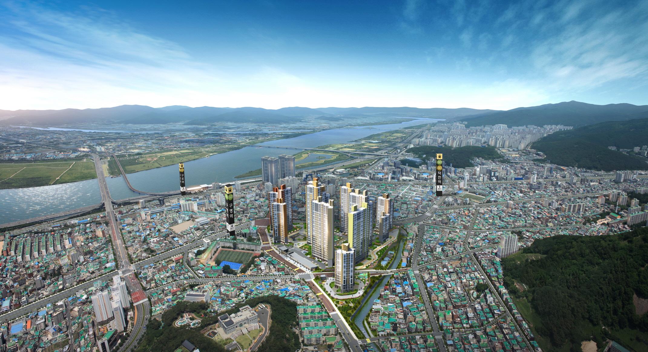 부산 비조정대상지역 새 아파트 '귀한 몸'.. 반도건설 '신구포 반도유보라'