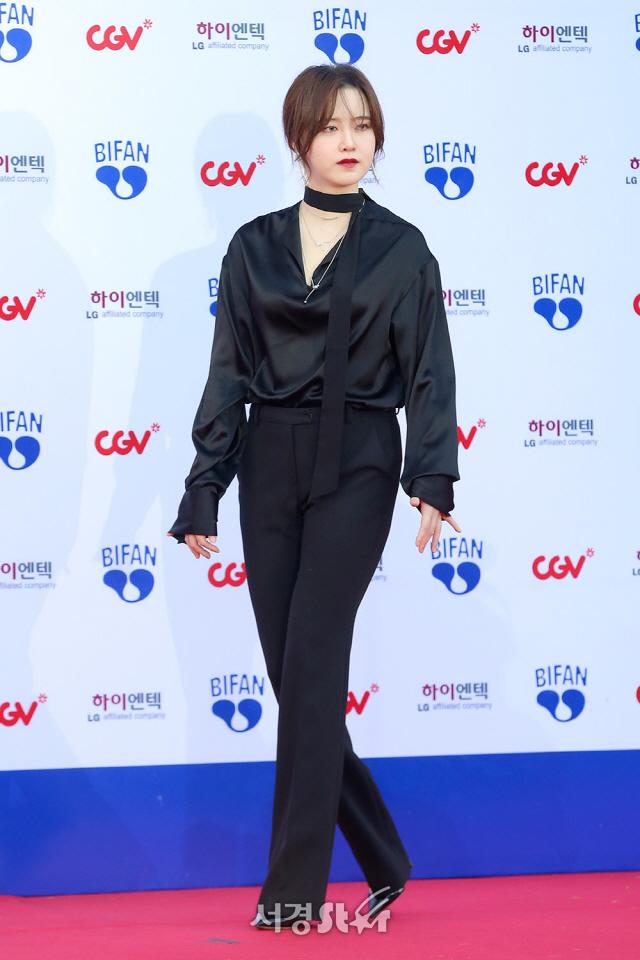 구혜선, '올블랙에 눈빛까지 시크' (BIFAN)