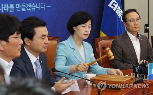 """추미애 """"기무사는 박근혜 정권의 보이지 않는 손, 폐지 여론 80%"""""""