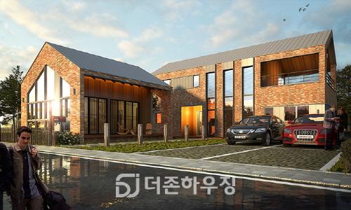 한국 수자원 공사 추진 송산그린시티, (주)더존하우징 시공사로 선정