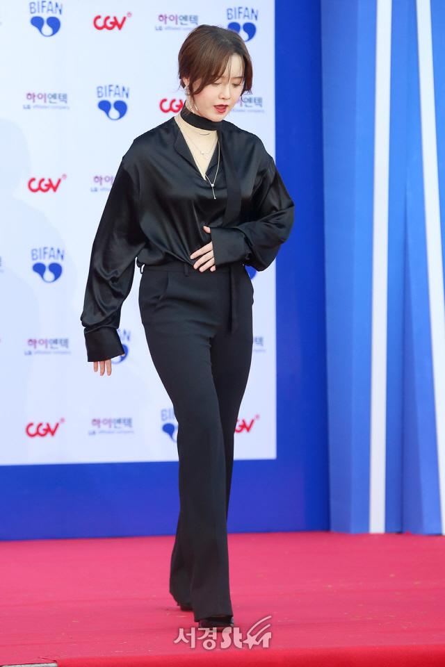 구혜선, '계단은 조심조심' (BIFAN)
