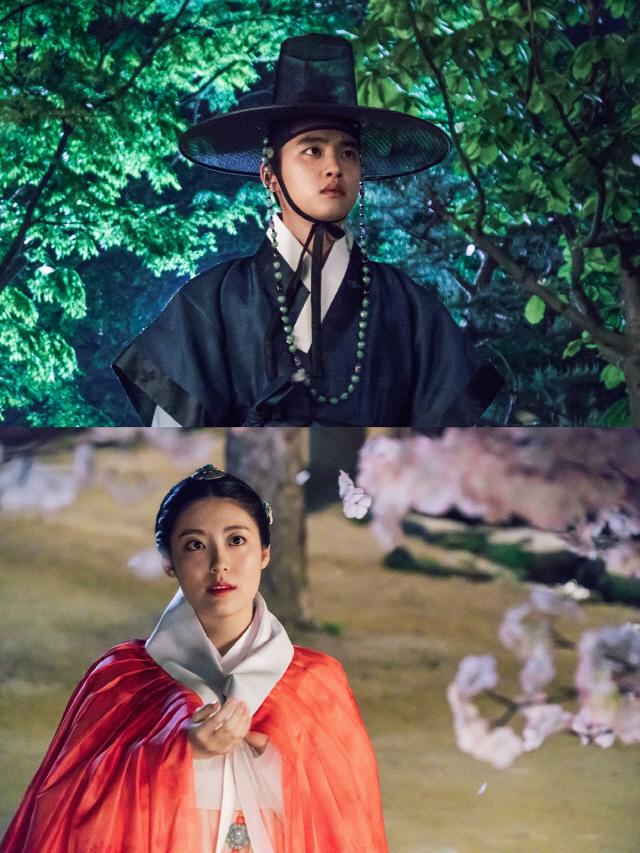 '백일의 낭군님' 도경수·남지현 '벚꽃 스타트' 보기만 해도 두근두근
