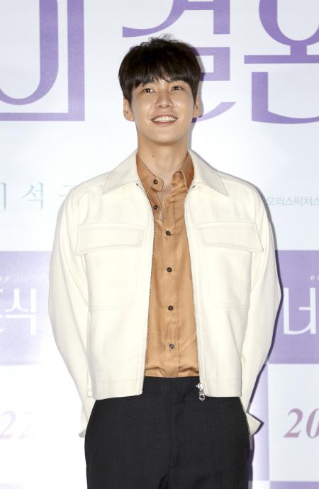 [현장] '너의 결혼식' 김영광 '박보영과 4년만에…꿈 이룬것 같아'