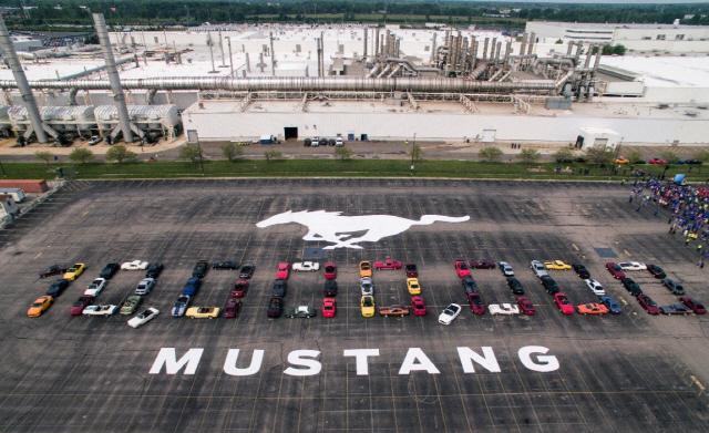 포드 머스탱, 1천만 대 생산 돌파
