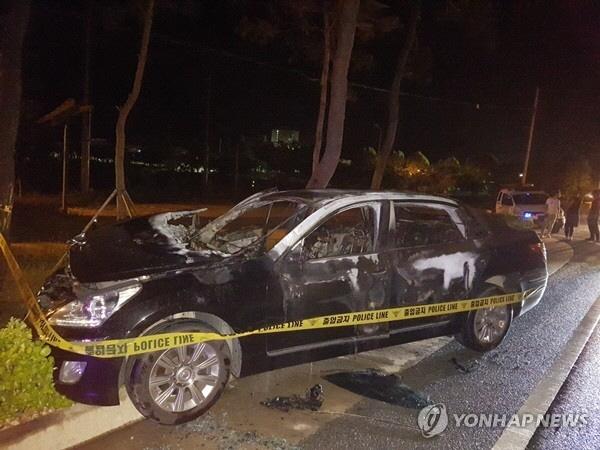 BMW·에쿠스·아반떼 이어 SM5서도 화재..인명피해 없어