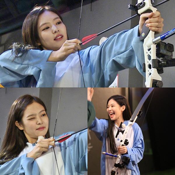 '런닝맨' '꽝손 여신-양궁 여신' 제니, 의외의 양궁 실력 '기대해'