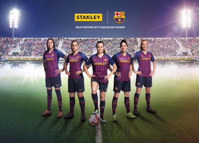 스탠리블랙앤데커, FC 바르셀로나 여성팀 최초 유니폼 메인 스폰서 협약 체결