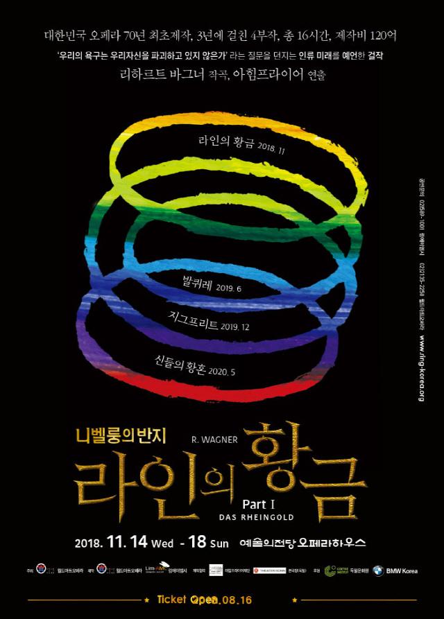 120억 대작 오페라 '니벨룽의 반지'..김동섭 양준모 전승현 출연 확정