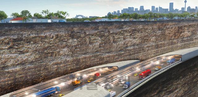 삼성물산 8,826억 규모 濠 지하차도 수주