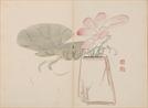 [조상인의 예(藝)-<75>김수철 '백분홍련']흰 항아리에 분홍빛 연꽃...우아한 기품 수묵으로 담다