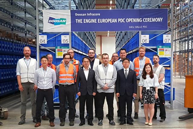 두산인프라, 獨에 유럽 첫 엔진부품공급센터 설립