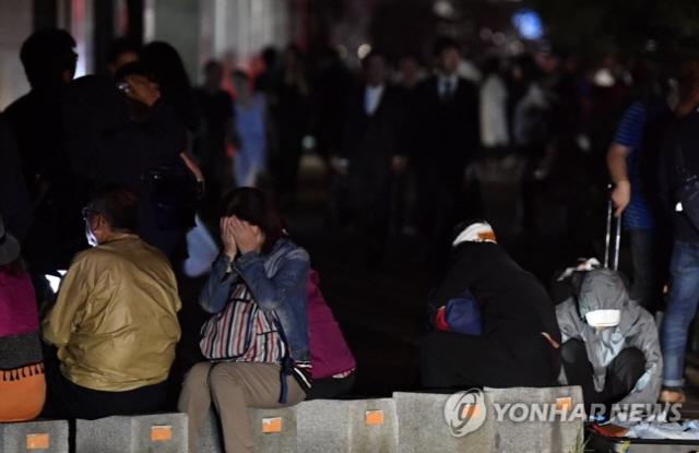 """일본, 태풍 '제비' 피해 이어 지진 공포..""""홋카이도 인근 규모 6.7 지진"""""""