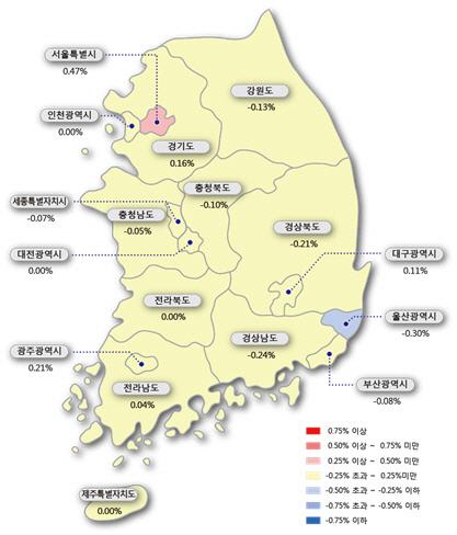 정부가 투기지역 늘렸지만...서울 아파트 값은 껑충
