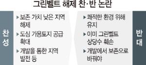 [토요워치]'그린벨트 해제에 집값 상승 기대' vs '그나마 있는 녹지인데…쾌적한 환경 살려야'