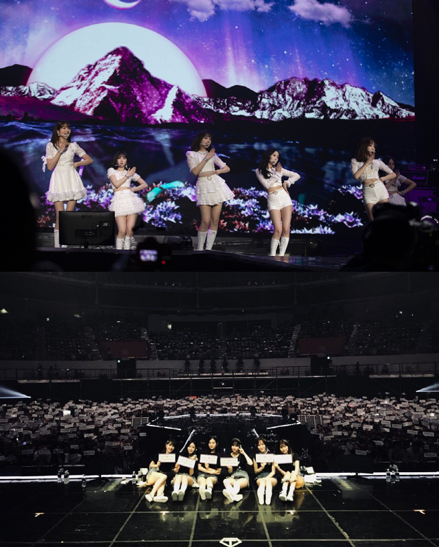 여자친구, 서울 앙코르 콘서트 성료…청순부터 청량까지 꽉찬 180분