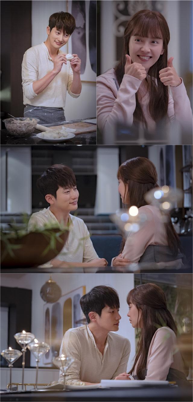'러블리 호러블리' 박시후♥송지효, '심쿵' 키스 1초 전 포착