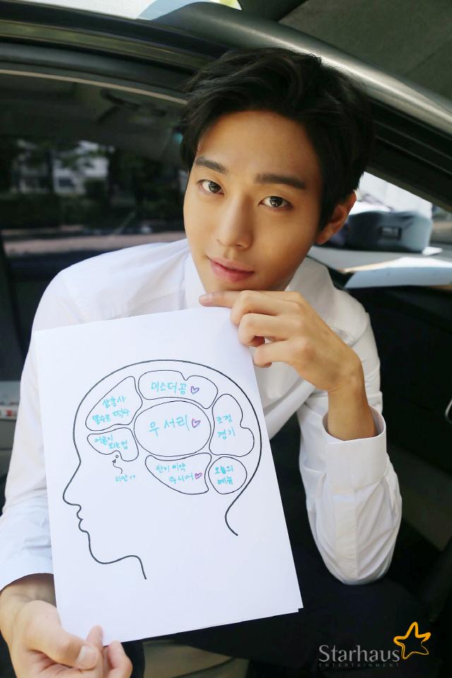 '서른이지만', 안효섭이 그린 '유찬' 뇌구조…1위는 '우서리♥'