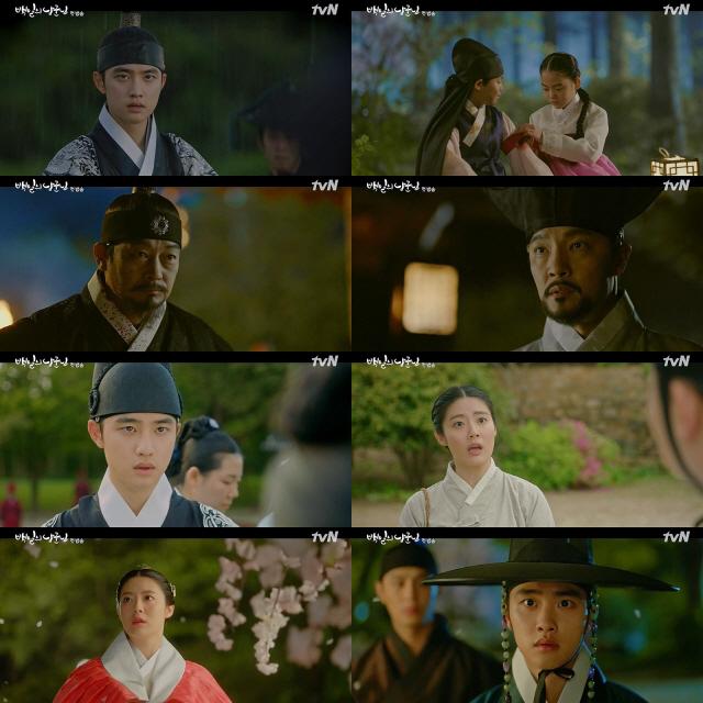 '백일의 낭군님', tvN 월화 첫방 최고 시청률…도경수X남지현 로맨스 통했다
