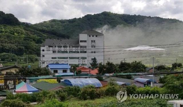 청도 온천 화재, 15명→60명 연기 흡입…2·3세 아기도 포함