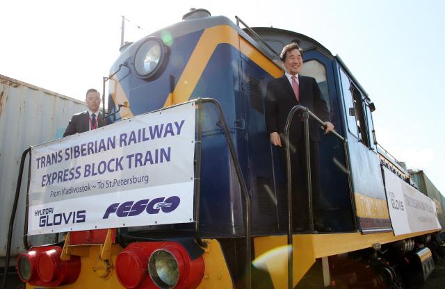 시베리아 횡단열차 둘러본 李총리