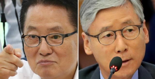 여상규-박지원, 이은애 청문회서 고성치며 설전…왜?