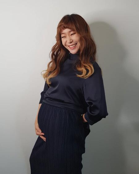 정주리, 셋째 임신 소식…다둥이 엄마 대열 합류