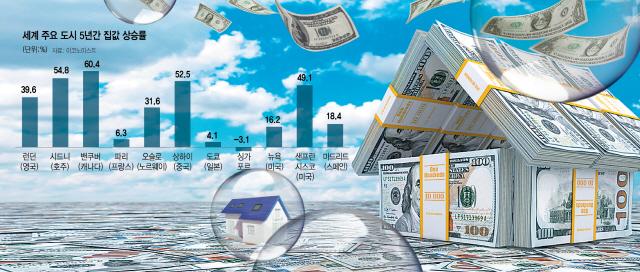 [글로벌What-전세계는 집값과의 전쟁]10년간 거침없는 랠리...빈집세·인지세로 집값 잡힐까