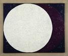 [조상인의 예(藝)-<79>류경채 '축전91-8'] 휘영청 뜬 한가위 보름달...빛으로 빚은 '넉넉함'