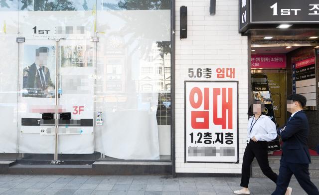 [자영업 줄폐업 휘청이는 핵심상권] '경기 안좋아도 종로·강남은 버텼는데...상권이 죽었다'