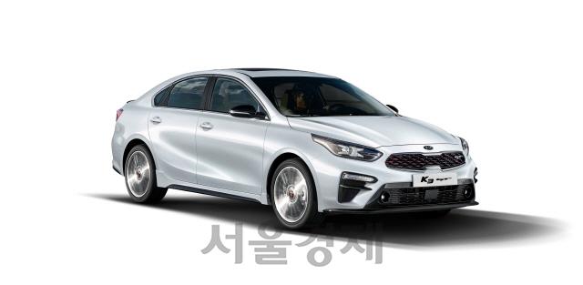 기아차, 엔진·디자인 강화한 'K3 GT' 출시