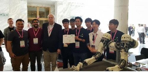 김용재 코리아텍 교수, 국제로봇학술대회 우승