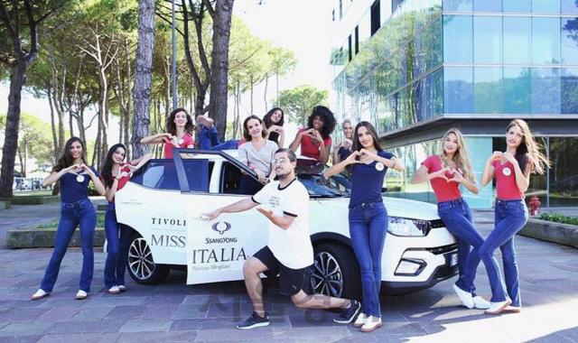 [SENTV] 쌍용차, 미스 이탈리아 선발대회 후원… 브랜드 알리기 나선다