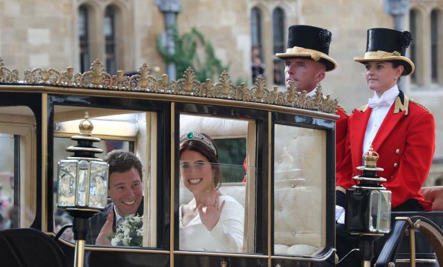 英 '왕위서열 9위' 유지니 공주 결혼