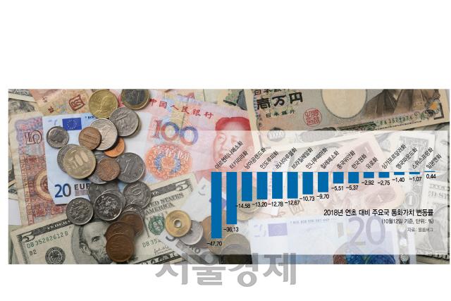 [경제교실] 벼랑끝 내몰린 신흥국 금융불안 증폭 원인은?