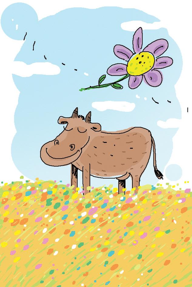[시로 여는 수요일] 소를 웃긴 꽃